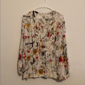 Floral Old Navy Blouse